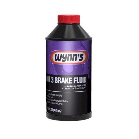 Liquido de freno dot3 12 onz. caja x 12 und Wynn's 53051